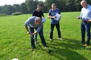 Nick ven Eekeren (Louis Bolk Instituut) geeft instructies